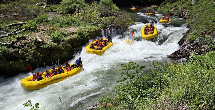 Rafting in Croazia
